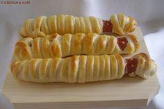 Kipróbált és bevált receptek ...: Múmia hot-dog Halloween-re :)