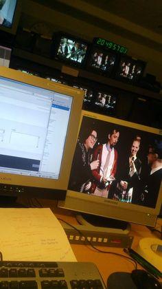 UMK+ tallennus Toy-yksikössä 24.1.2013, Faaraon (vas monitori) kautta Areenaan.
