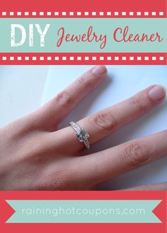 jewelry DIY Jewelry Cleaner