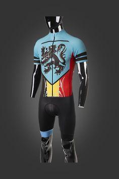 e27a3184ccc5fc Bodyline ONE Bib Shorts Belgian Blue. bodyline shorts with lionheart  jersey. Stolen Goat - Cycling Specialists