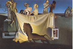 The Old Age of William Tell, 1931, Salvador Dali Size: 140x98 cm Medium: oil, canvas