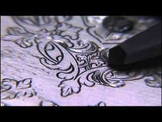 Watch Dial Hand Engraved Shading by Shaun Hughes