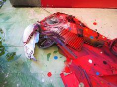 Le street art géant et recyclé de Bordalo II (Segundo) - Lisbonne (20)