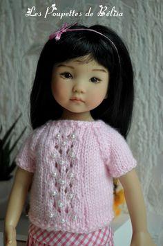 (Article programmé pour cause d'escapade à Cuba)... Il y a quelques temps je formulais, le souhait de réaliser des petites jupes ... Escapade, Knitted Dolls, Little Darlings, Cuba, Needlework, Doll Clothes, Crochet Hats, Couture, Fashion