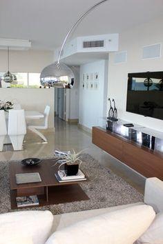 North Miami modern living room