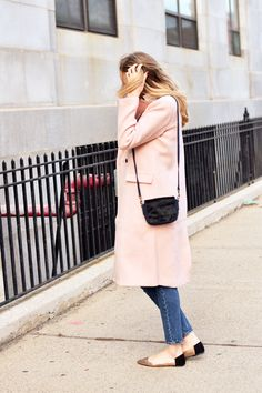 blush coat + metalli