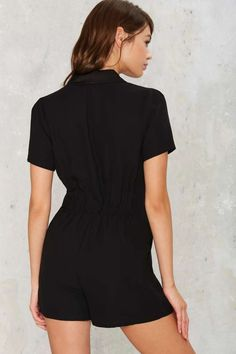 No Such Tux Romper - Rompers + Jumpsuits | Sale: Newly Added | Sale: 40% Off | LBD | Rompers + Jumpsuits