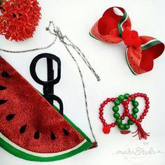 Quem não ama melancia,não é mesmo? Mais uma flatay que amei fazer!