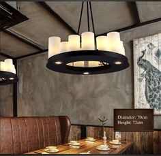Aliexpress.com : Buy Modern Pendant Lamps Round Candle Stand Holders Drop Light Lighting Fixture for Restaurant  Home Bar Cafe Deco New Fashion from Reliable decorative pendant lamp suppliers on Shenzhen M-Home Co. Ltd  | Alibaba Group  HOME DECOR DECORATION