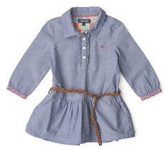 vestidos en chambray para niña - Buscar con Google