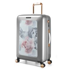 Luggage Ted Baker Take Flight TBW102 Medium Spinner Porcelain Rose