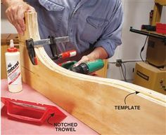 Recurve bow making