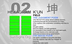 "Interpretation & Meaning of IChing Hexagram 2: 坤 ""Field"" - K'un-  line 6 we are two dragons at the moment. We must cooperate to bring universal harmony"