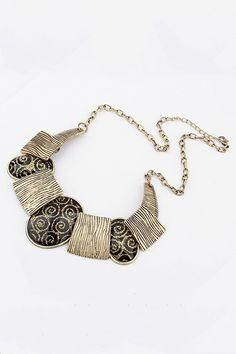 Necklace crafted in alloy, featuring stone embellishment to main, Gothic style, chain to main with clasp fastening.