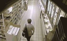 Security cams catch the darnedest things (15 GIFs)