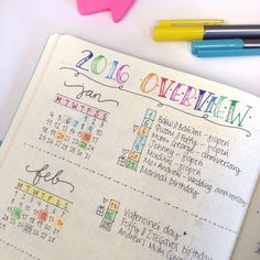 How to future plan with your bullet journal