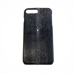 "iPhone 8 Plus Case made of Genuine Stingray Galuchat for any phones: apple or samsung S8 or S8 Plus iPhone 7 or Plus Google Pixel an  Amazing Genuine Sitngray Case color BLACK MATT handmade in Tuscany (Italy)  by Leathersmith Nicola Meyer. Hard to cut cause very strong Leather with littles stiff bead of ""glass"" uniques and exclusive you can find it at www.nicolameyer.com  #samsungcase #iphonecover #phonecase #stingrayleather #iphone7pluscase #iphone7cover  #pixelcase #pixelcover #samsungs8…"