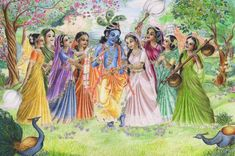 Hare Krishna everyone. so with grace of Sri Sri Radha Krishna, I was able t. Krishna calling out Lord Krishna Images, Radha Krishna Pictures, Radha Krishna Photo, Krishna Photos, Arte Krishna, Krishna Leela, Radha Krishna Wallpaper, Krishna Painting, Indian Art Paintings