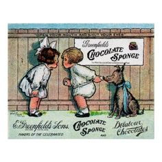 Vintage Chocolate Posters | vintage chocolate ads and poster design | 1905 vintage advertisement ...