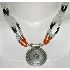 Sterling Silver Necklaces and Pendants Multi Gemstone Jewelry 19 Inches: Jewelry: Amazon.com