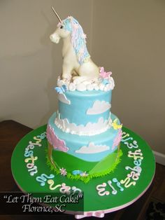 unicorn cake :)  how sweet