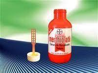 Merthiolate -ardia!!! líquido antisséptico p curativos