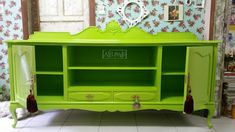 Ateliando - Customização de móveis antigos: Verde Limão para alegrar!