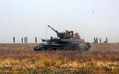46-й батальон спецназначения ВСУ Донбасс-Украина БТС-4 с зенитками