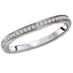 The a universally accepted standard to diamond grading. Learn about the cut, color, clarity, carat weight. Curved Wedding Band, Wedding Bands, Diamond Bands, Unique Rings, Diamond Engagement Rings, Wedding Band, Wedding Band Ring, Diamond Engagement Ring, Wedding Rings