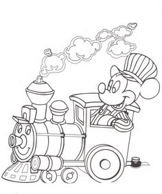 Walt Disney Railroad - Mickey Mouse