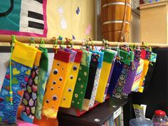 Handmade felt recorder cases