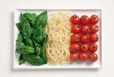 italia: basil, pasta and tomatoes pretty much make up my daily diet..