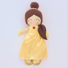 Hey, I found this really awesome Etsy listing at https://www.etsy.com/uk/listing/519649453/belle-inspired-doll-fabric-doll-heirloom