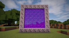 Minecraft - How to make a Portal to SPACE!!! (No mods) - YouTube Mobs Minecraft, Craft Minecraft, Minecraft Portal, Minecraft Crafting Recipes, Easy Minecraft Houses, Skins Minecraft, Minecraft Plans, Minecraft House Designs, Minecraft Decorations