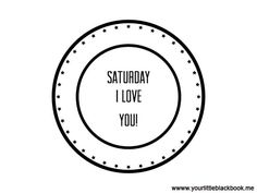 Happy Saturday! Check the Amsterdam Weekend Guide for fun things to do: http://www.yourlittleblackbook.me/amsterdam-weekend-guide-october-24-25-26/ quote, Saturday, weekend, button