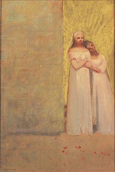 Two Graces - Odilon Redon