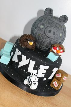 Star Wars Angry birds by Zoe's Fancy Cakes
