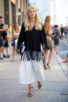 We take a look back at all of the best street style moments from New York Fashion Week. See the standout looks here and glean the ultimate style inspiration.