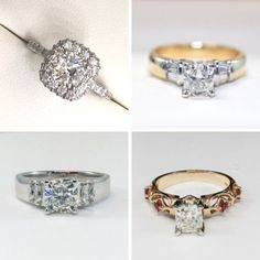 Lets talk about the year's most popular custom rings in Winnipeg. From rose gold engagement rings to cushion cut diamond rings, view top designs now! Cushion Cut Diamond Ring, Rose Gold Engagement Ring, Fashion Rings, Popular, Crystals, Diamonds, Trends, Jewelry, Top