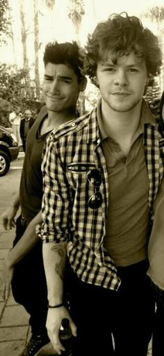 Jay Mcguiness & Siva Kaneswaren from The Wanted