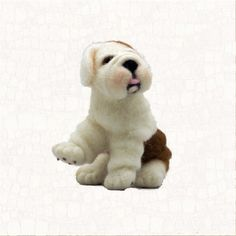 Needle Felted Dog English Bulldog Puppy Gift Or by WoolSculptures, $150.00