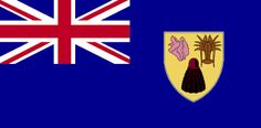 The National flag of Turks and Caicos