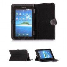 Capa Tablet 8 Polegadas - Função Stand Pele Preta  R$35,44