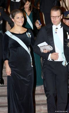 Pin for Later: The Royal Princesses of Sweden Sport Matching Baby Bumps During Their Latest Outing