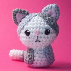 """Our amigurumi-style crochet pattern is easy for beginners. Pattern includes detailed instructions along with diagrams for assembling your animals. Each crocheted critter will be approximately 4' to 4-1/2"""" inches tall."""