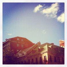 Montreal's sky