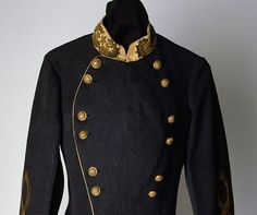 general braxton bragg | General Braxton Bragg's CSA uniform jacket