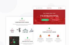 Chrismas Sale - Email Newsletter by Ra-Themes on Envato Elements Email Templates, Newsletter Templates, Ra Themes, Email Newsletters, Happy New Year, Sayings, Lyrics, Happy New Year Wishes, Quotations