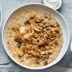 Spiced apple pie porridge