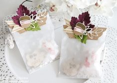 Stampin Up - Box - Goodie - Gift Bag - Tüte - Give Away - Geschenktüten Punktemuster - Goodie - Stempelste Herbstgrüße - Herbst - Autumn ☆ Stempelmami